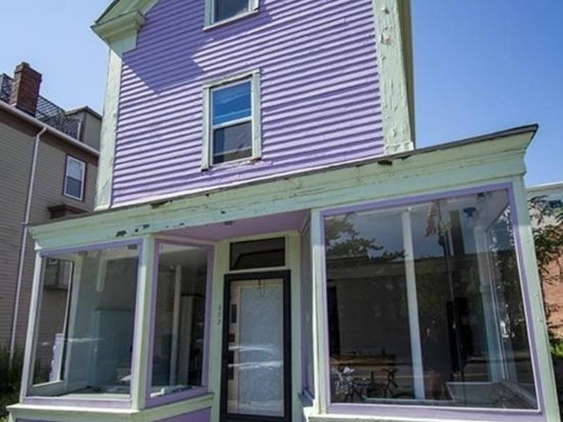 Cambridge Wow: Purple Storefront, 2 Apartments For Sale ...