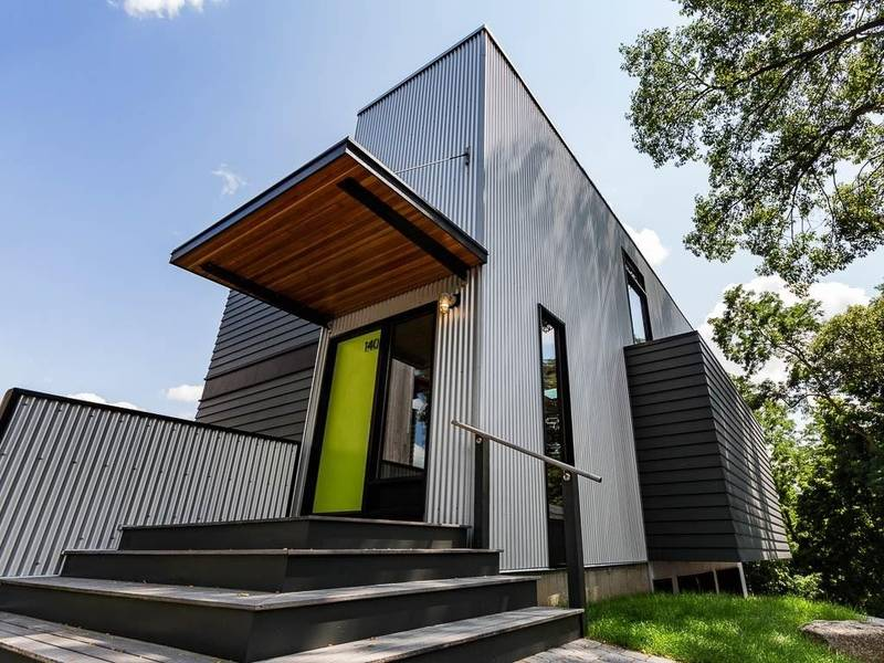 Waltham wow a funky modern home for sale waltham ma patch for Contemporary homes for sale in ma