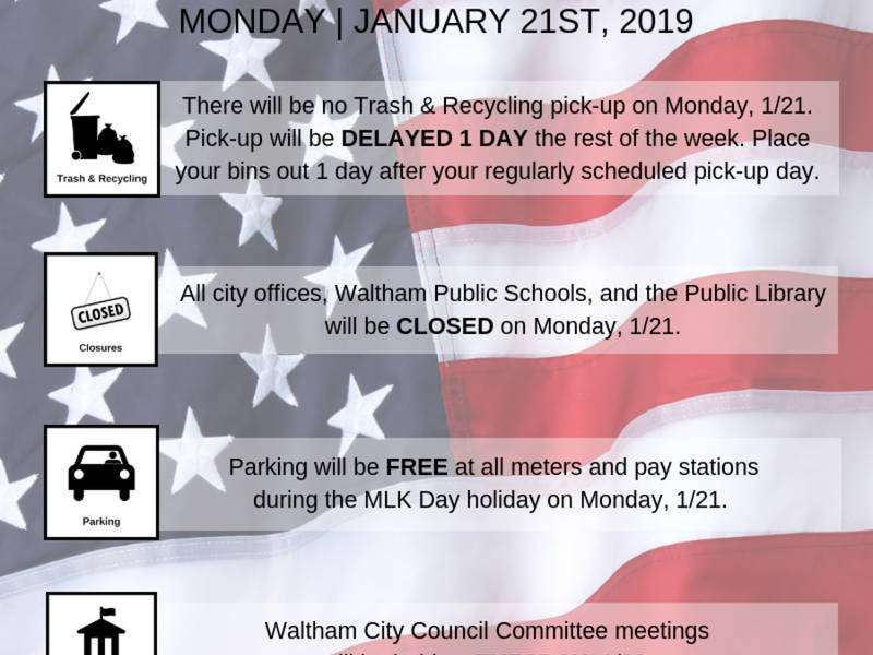 3 Things To Do In Waltham For Mlk Day Waltham Ma Patch