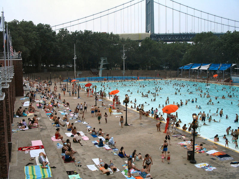Nyc public pools open thursday new york city ny patch for City of fort worth public swimming pools
