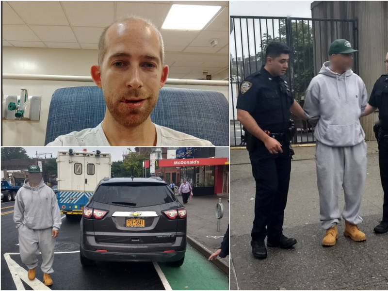 Park Slope Cyclist Punched By Driver Blocking New Bike Lane: Cops