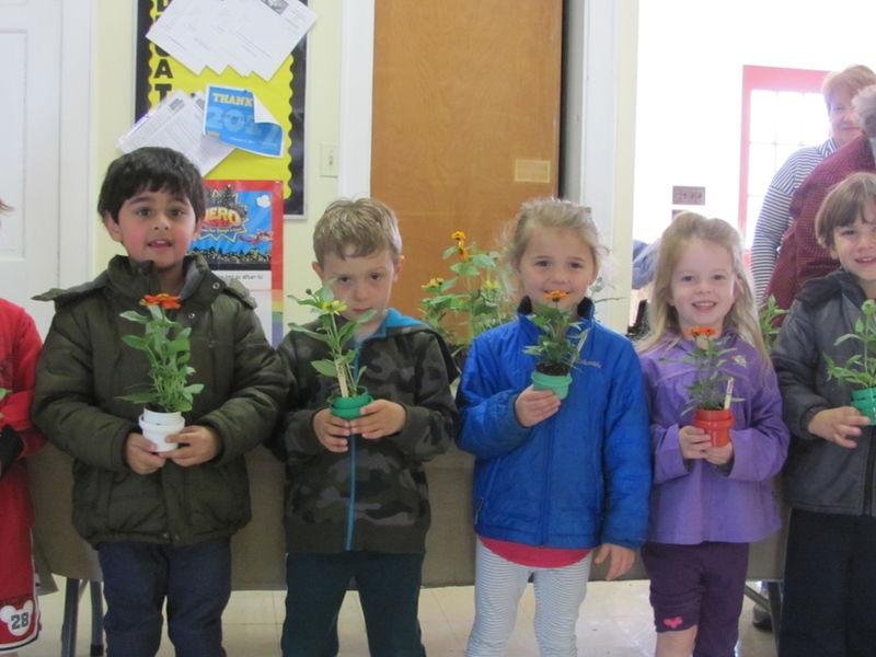 Garden Club Of Long Valley Visits Nursery School 0