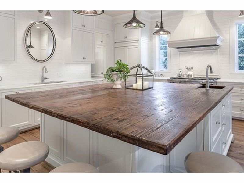 Lovely ... Endgrain Lumber Reclaimed Wood Table Tops Wood Counter Tops Barn Wood  Rustic Island Tops NJ NY ...