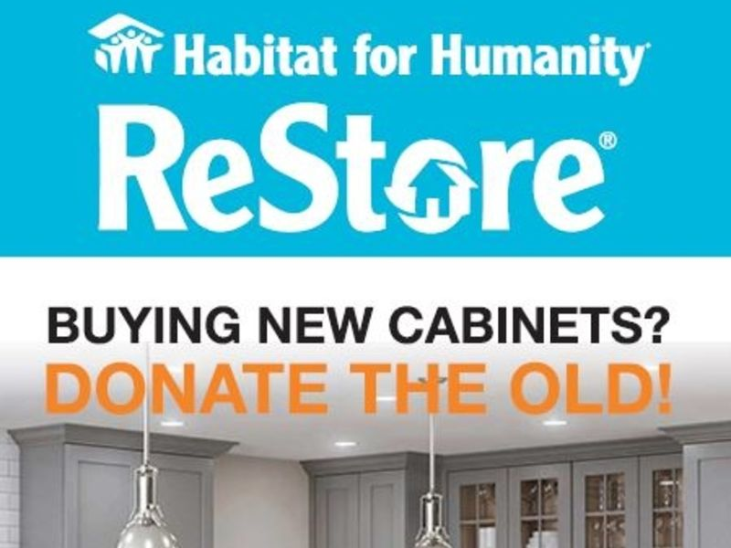 The Solid Wood Cabinet Company U0026 Habitat For Humanity Upcycle Together