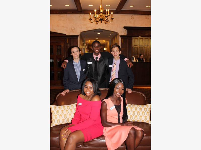 summits pep program celebrates graduating college bound seniors