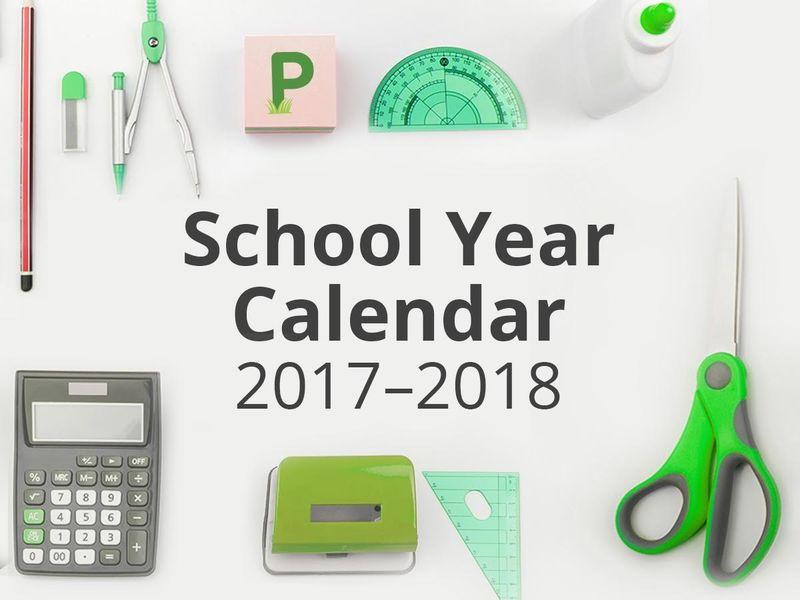 Jamestown Public Schools' 2017-18 Calendars