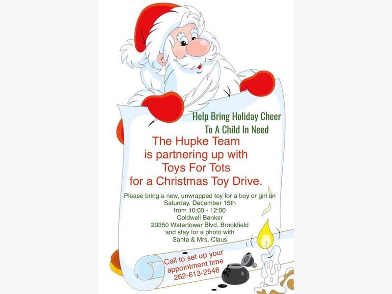 Realtor Jennifer Hupke Hosts Toys For Tots Holiday Donation Drive