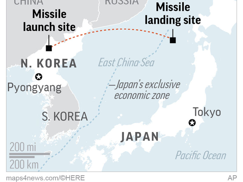 North Koreas Nd ICBM Test Much Of US In Range Experts Say - Us icbm range map