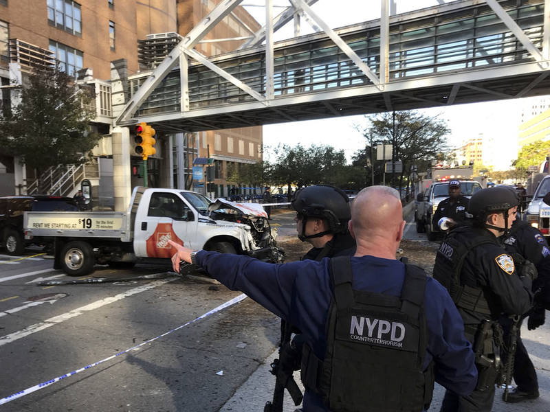 Terrorism Suspected In Tribeca Truck Attack: Sources