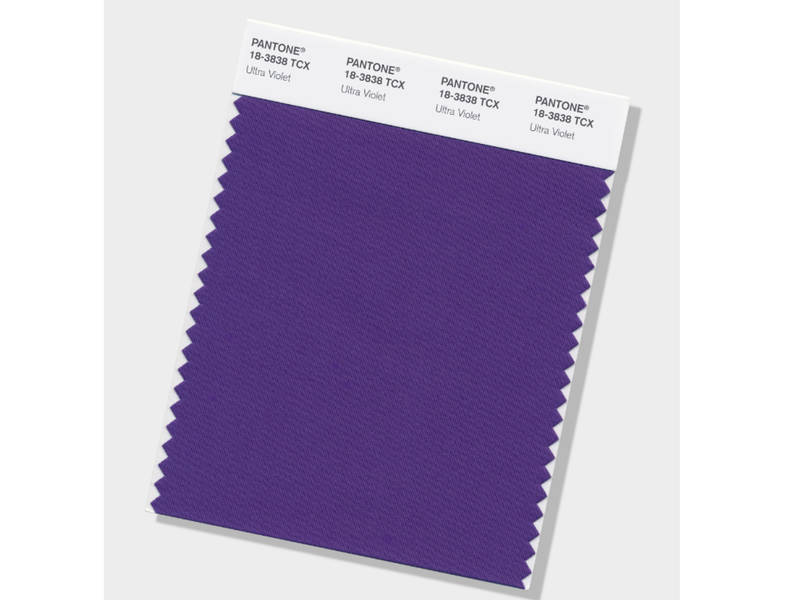 Pantone\'s Color Of The Year: \'Ultra Violet\' | Across America, US Patch