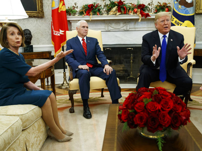 Pelosi Disparages Trump's 'Manhood' In Closed-Door Meeting