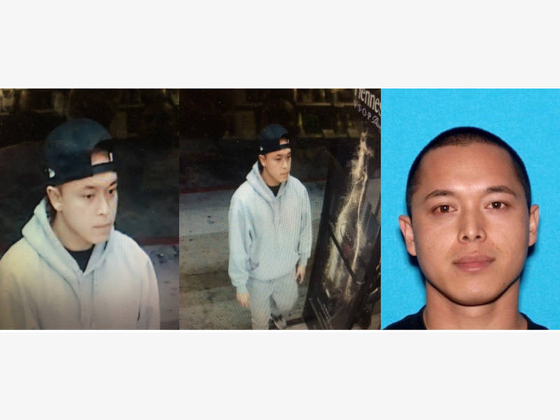 Long Beach Police Search For Liquor Store Murder Suspects