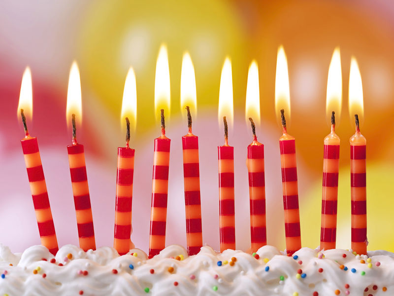 Bacteria Flavored Birthday Cake Study Shows Blowing Out Candles Transfers Germs