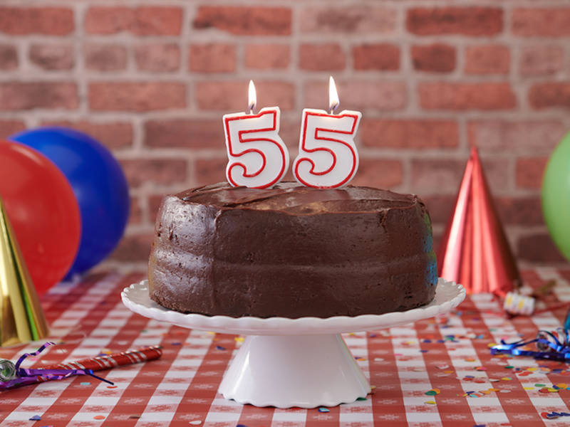 Portillos Celebrating Birthday With 55 Cent Chocolate Cake