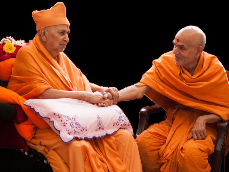 H H Mahant Swami Maharaj Of Baps Visiting North America