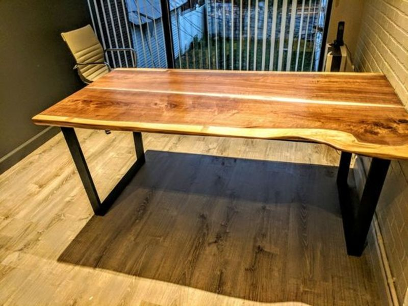 Black Walnut Slabs Tables Custom Restaurant Tables Custom Barn