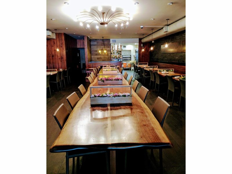 Black Walnut Slabs Tables Custom Restaurant Tables
