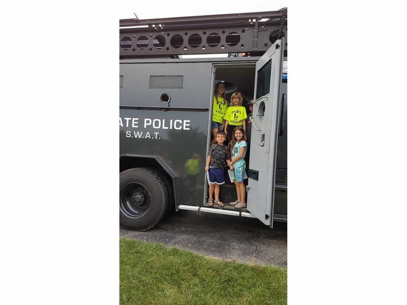 Joliet shorewood police host national night out events on for Department of motor vehicles joliet illinois