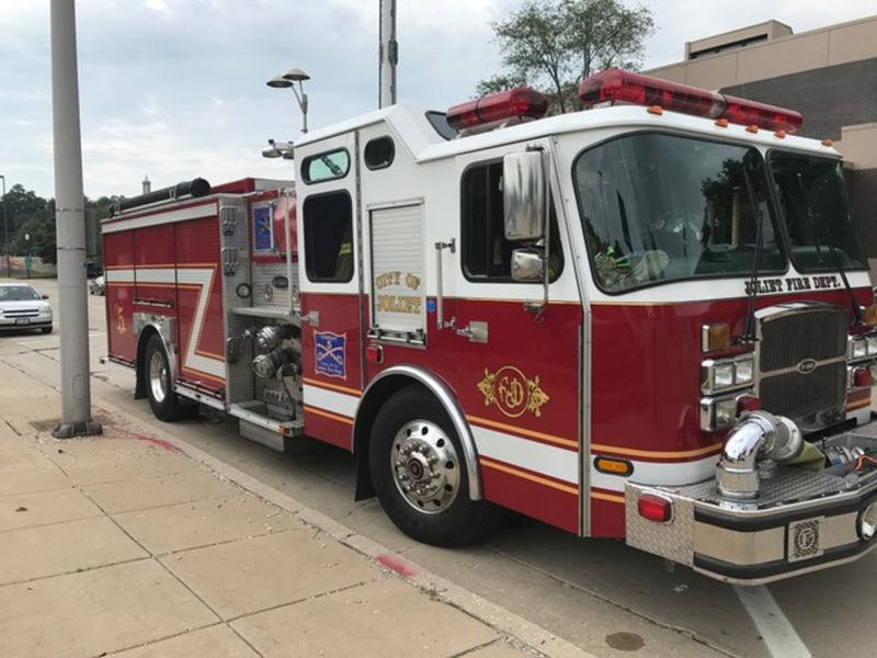 Charcoal fire damages joliet house joliet il patch for Department of motor vehicles joliet illinois