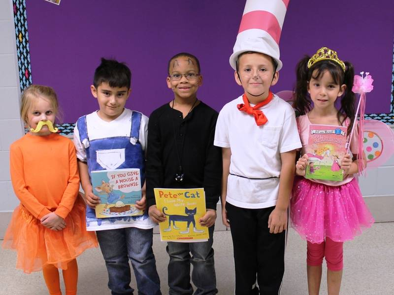 troy craughwell students celebrate favorite book character day