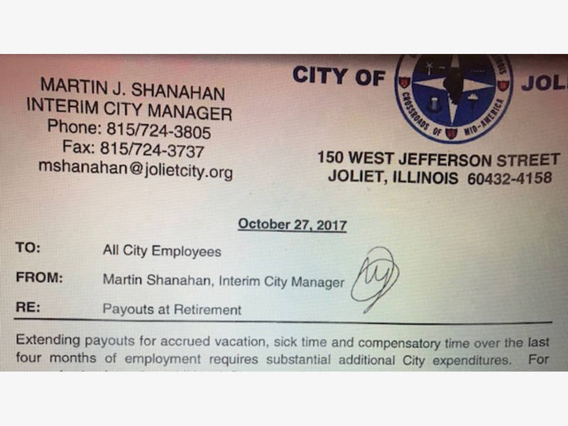 Employee Peion | Joliet Scales Back City Employee Pension Benefits Joliet Il Patch