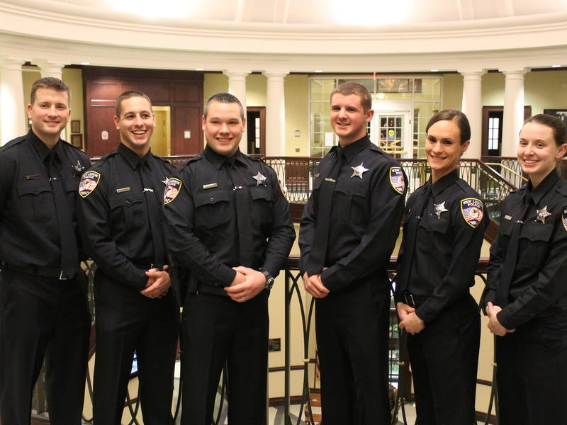 new lenox has 6 new police officers
