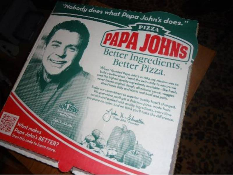 Papa John's Tangled Up In New Lenox Lawsuit | New Lenox ... Papa Johns Pizza Box Opened