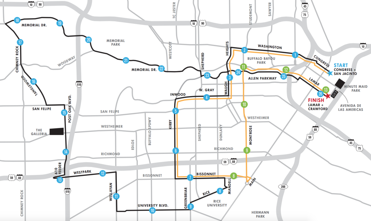 How To Watch The Houston Marathon This Weekend Galleria TX Patch