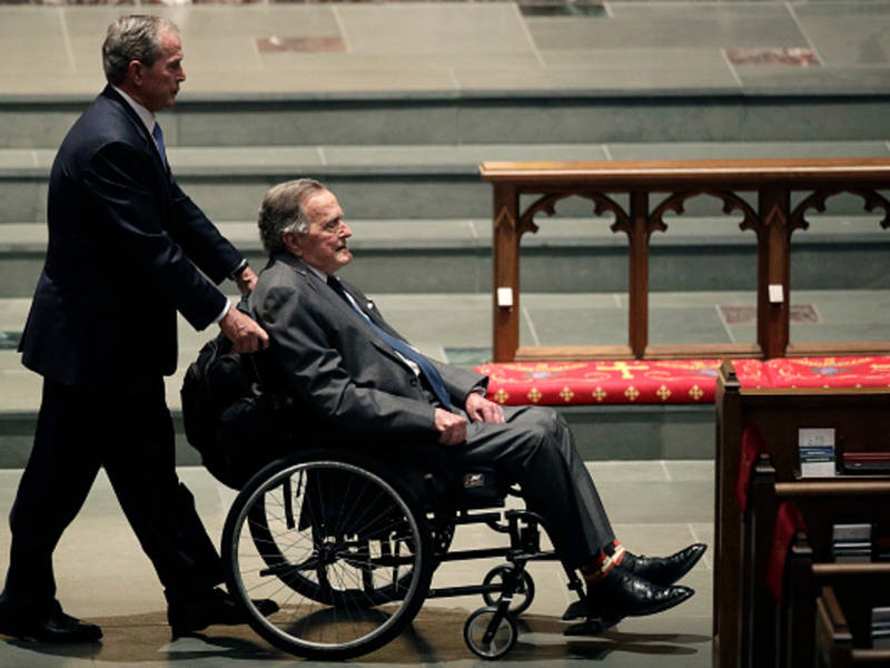 George H.W. Bush To Remain In Hospital Through The Weekend | Houston ...