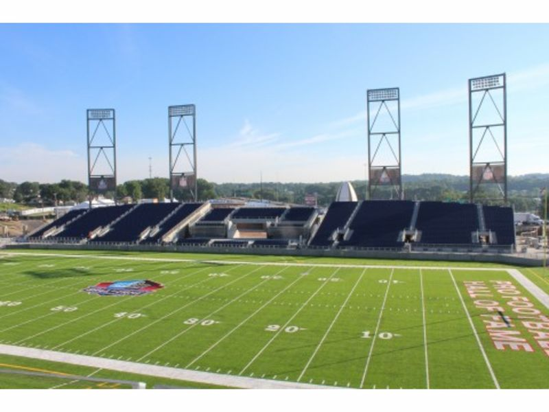 Welty Building Completes Tom Benson Hall Of Fame Stadium Cleveland Oh Patch