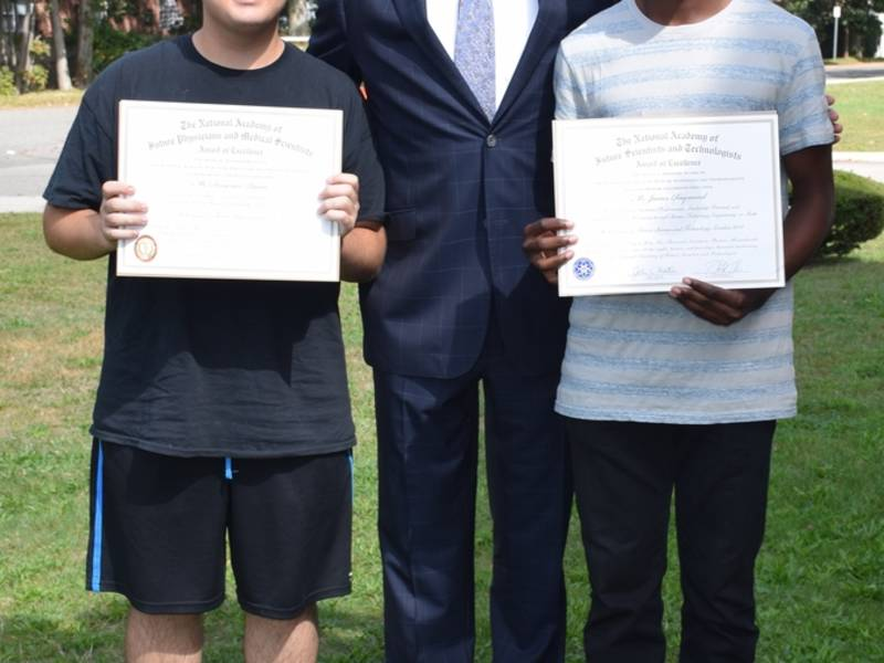 Deer Park Students Honored For Potential In Science And Medicine