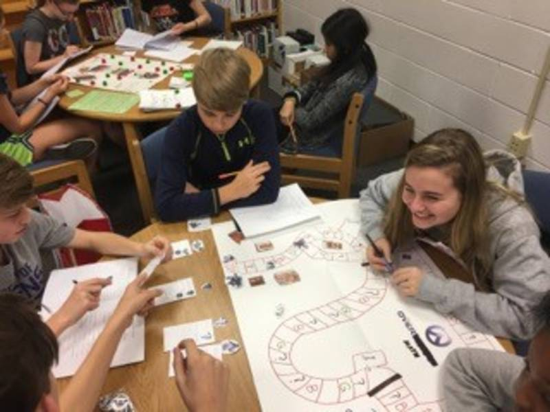 Eldersburg Students Make Board Games As Study Aids Eldersburg Md