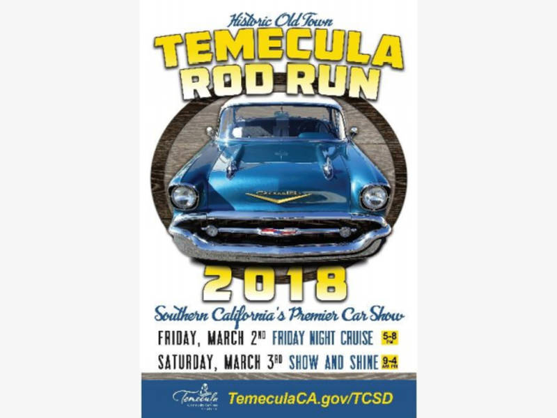 Temecula Rod Run Signature Car Show Returns In March - Old town car show 2018