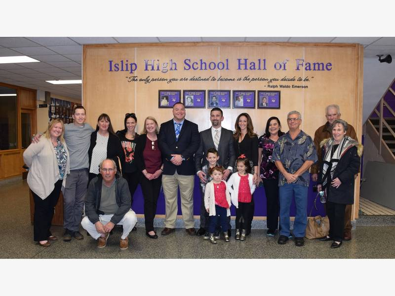 Five Inducted Into Islip High School Hall Of Fame Islip Ny Patch