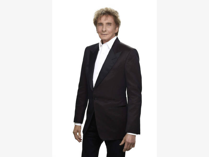 Manilow will perform his greatest hits such as