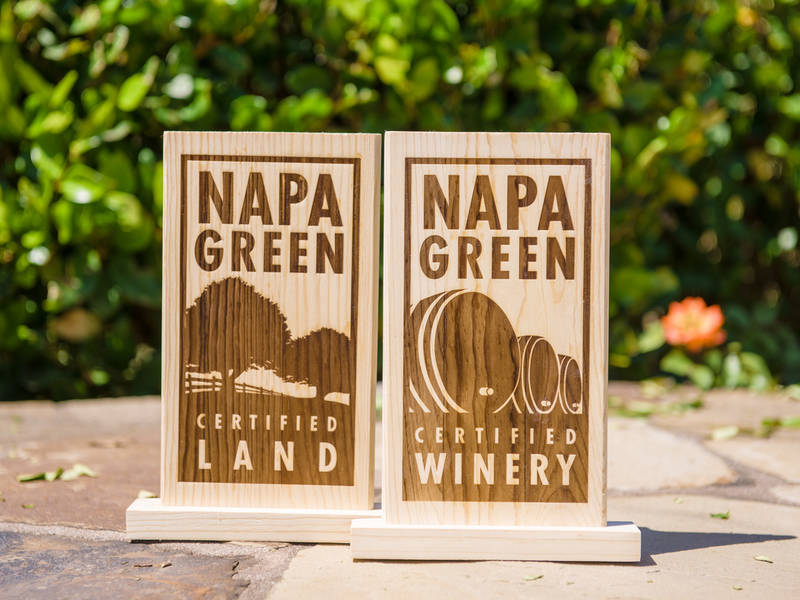 Statewide Award Honors Napa Valley Vintners, Napa Green