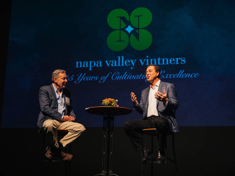 Napa Valley Vintners Kicks Off 75th Year With Warriors' Joe Lacob