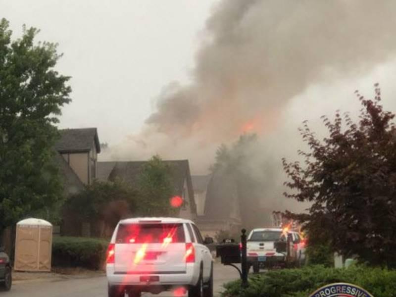 Pelham FD Battles House Fire In Ballantrae