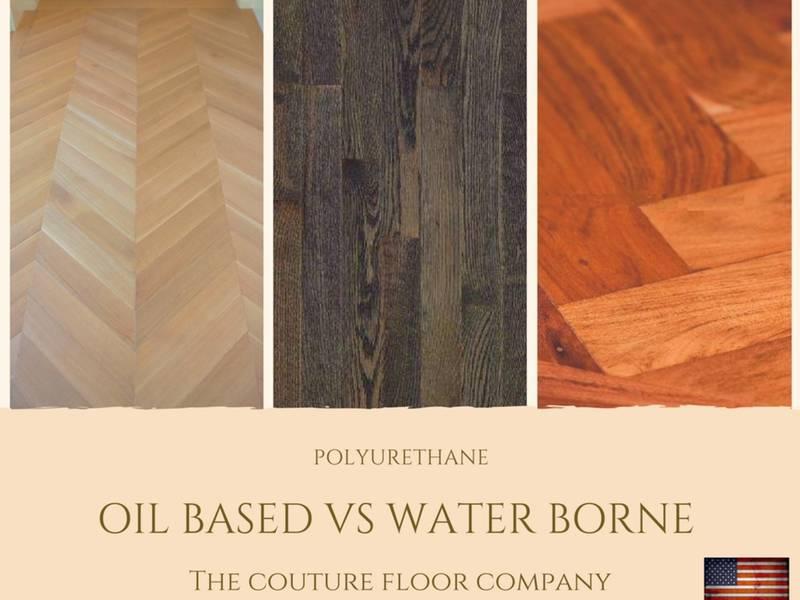 Oil Based Vs Water Borne Polyurethane