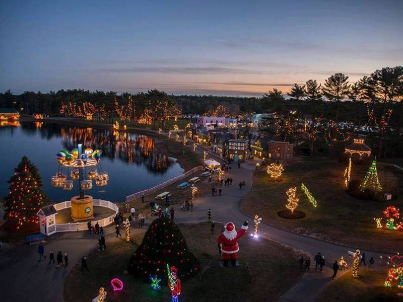 Edaville s Christmas Festival Lights Is Here For The Holidays