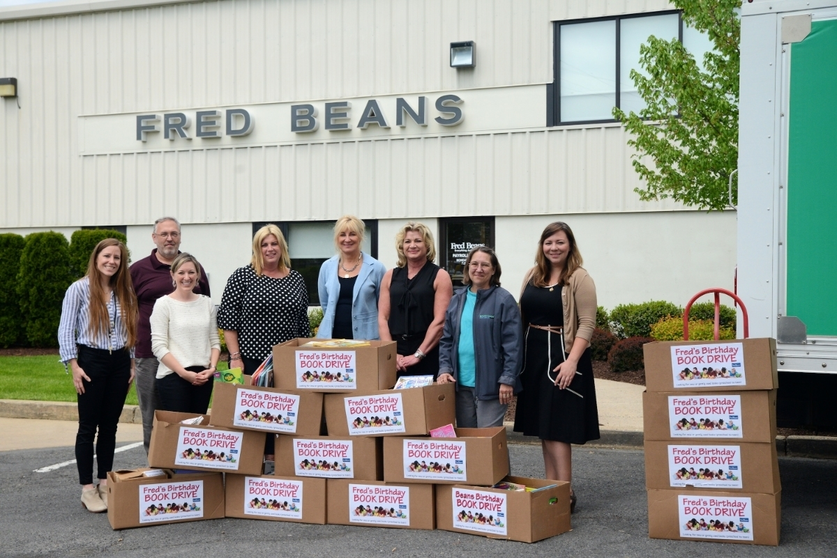Fred Beans Doylestown Pa >> Fred Beans Family of Dealerships Donates 1,000 Books | Doylestown, PA Patch