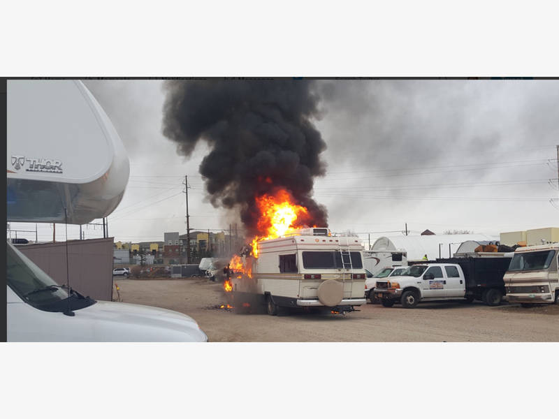 Broomfield Flaming Rv Caused By Electric Glitch North