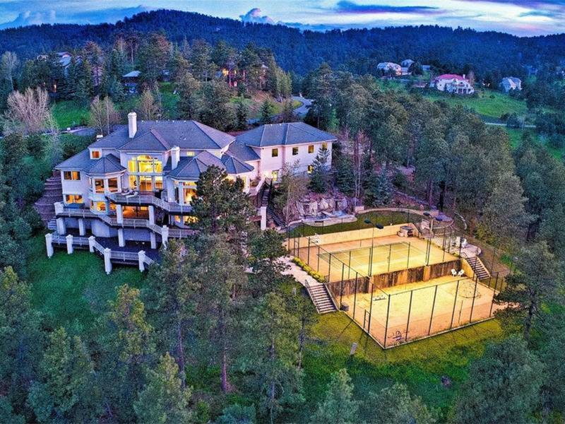 pro athlete mountain compound springs ranch colorado wow houses