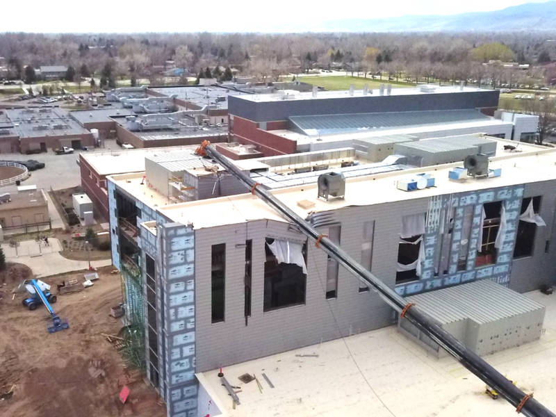 Large Crane Collapses On CSU Campus: No Injuries