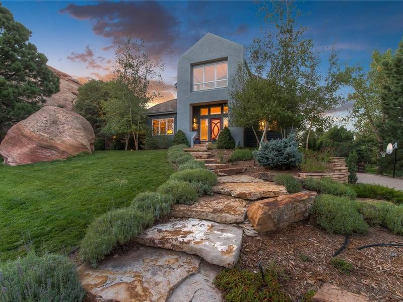 ... $1.25M Littleton Contemporary Home With Waterfall 0 ...