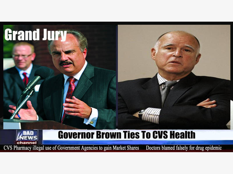 c0f68eb1e5 California Governor Jerry Brown Sought By Grand Jury For Corruption And  Ties With CVS Pharmacy