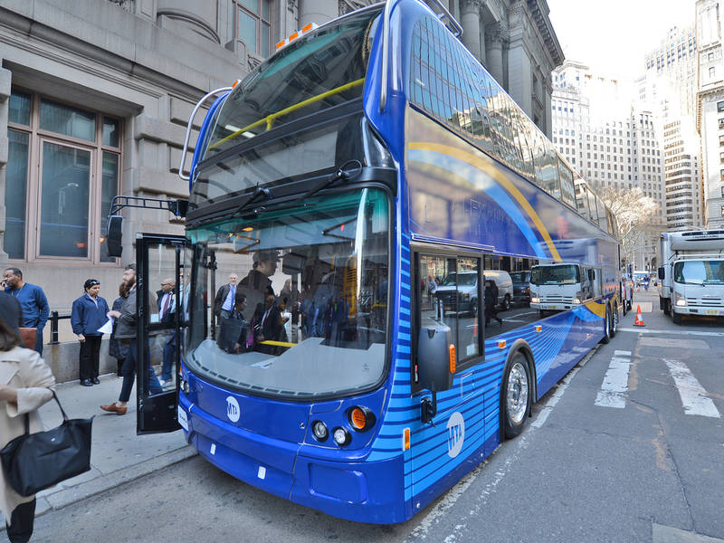 double-decker buses could soon hit nyc streets   new york