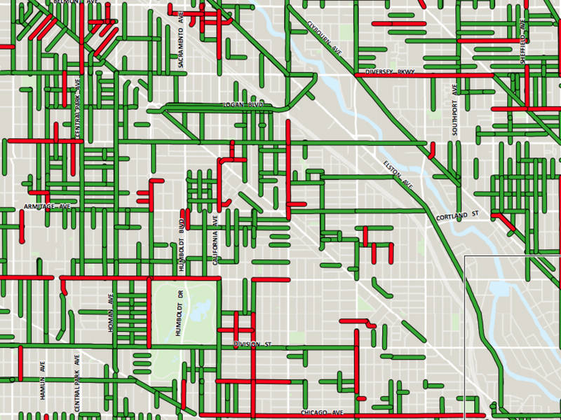 Chicago Map Streets.Wicker Park Street Repaving Map 2018 Bucktown Il Patch