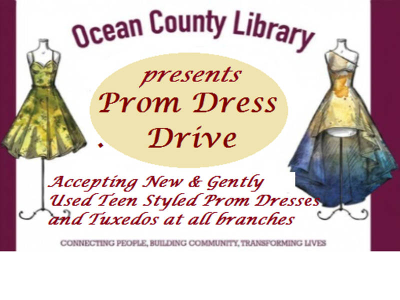 10th Annual Prom Dress Drive Returns To Ocean County Library Toms