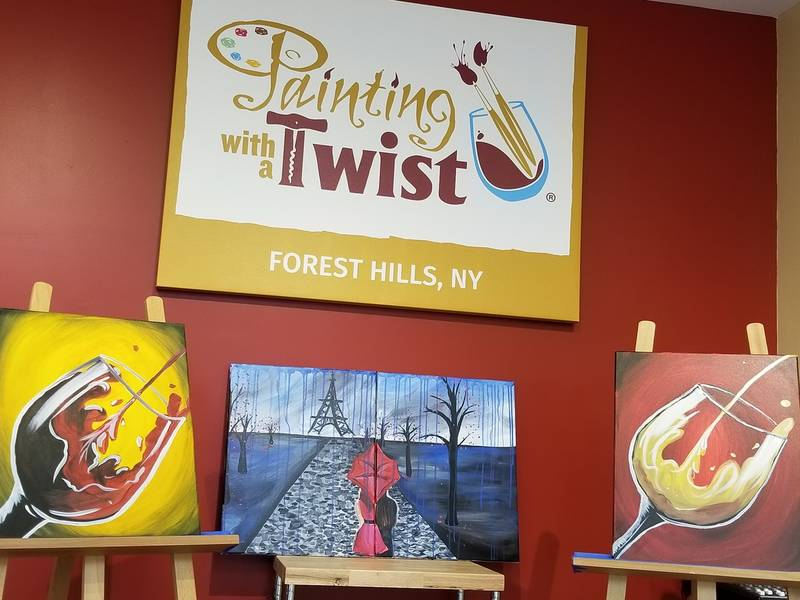 Win A Night Out At Forest Hills' New Boozy Art Studio-0